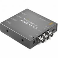 Видеоконвертер Blackmagic Mini Converter Audio to SDI 2 от магазина jvcvideo.ru